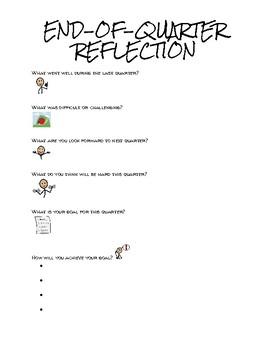 End-of-Quarter Reflection
