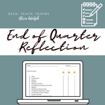 End of Quarter Reflection (Editable)