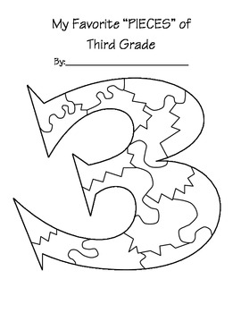 End of School year - Pieces of 3rd Grade