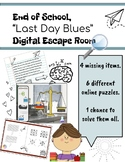 "End of School Digital Escape Room: ""Last Day Blues"""