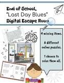 "End of School Digital Escape Room: ""Last Day Blues"""