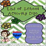 End of School Activity Duo