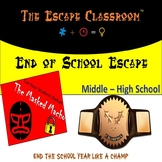 End of School Escape Room (Middle - High School) | The Escape Classroom