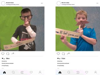 End of School Instagram Autograph Pages