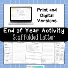 End of Year Writing Activity - End of Year Letter to Future Students