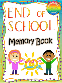 End of School Memory Book
