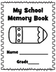 End of School Memory Book for Upper Grades