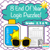 End of the Year & Summer Logic Puzzles for Critical Thinki