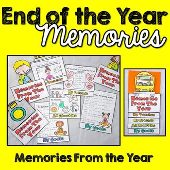 End of the Year Activity (Memories)