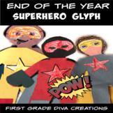 #SPRINGSAVINGS End of the Year Activities {Superhero Glyph}