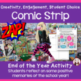 End of the Year Activities | Comic Strip