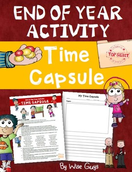 FREE End of School Year Activity: Time Capsule