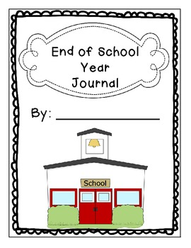 End of School Year Journal Prompts