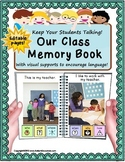 Back To School MEMORY BOOK For Autism and Special Education