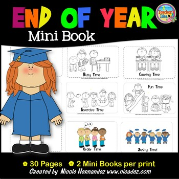 End of Year Mini Book
