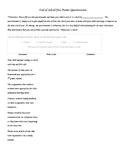 End of School Year Parent Questionnaire / Survey