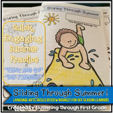 "Language Arts Summer Skills Review Booklet ~ ""Sliding Through Summer"""