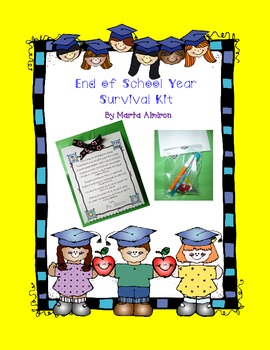 End of School Year Survival Kit - FREEBIE