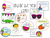 End of School Year Tags