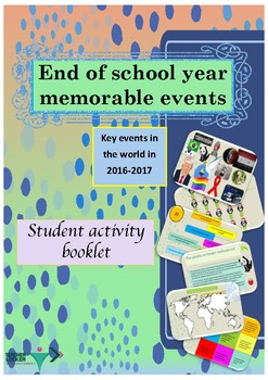 End of School Year events in the world 2016-2017 printable activities