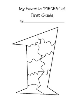 End of School year - Pieces of 1st Grade
