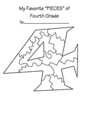 End of School year - Pieces of 4th Grade