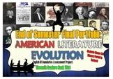 End of Semester Portfolio: American Literature Evolution