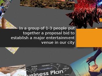 End of Semester Project: Create a Major Entertainment Venue