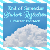 End of Semester Reflection