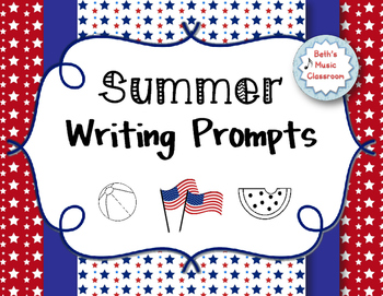 End of Summer Writing Worksheets & Stories