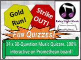 MUSIC REVISION QUIZ PACK Interactive fun