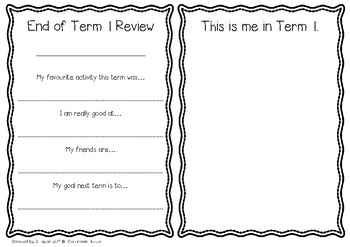 End of Term Review Pack!!