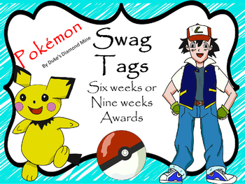 End of Term Swag Tags~6 or 9 weeks awards
