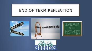 End of Term/Year Reflection Assembly/Lesson