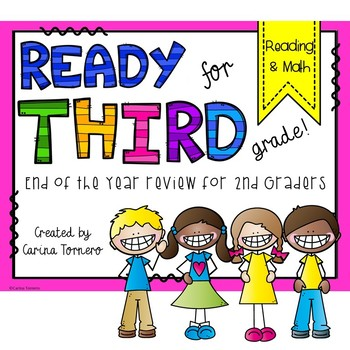 End of The Year Review- 2nd Grade Review- Ready for 3rd Grade