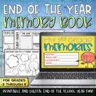 End of The Year Activities - 3rd Grade