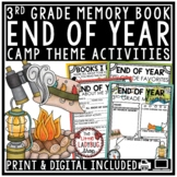 Camping Theme- End of The Year Activities 3rd Grade End of