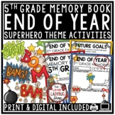 Nautical End of The Year Activities 5th Grade -End of The Year Memory Book