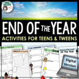 End of The Year Activities | Middle/High School | DIGITAL & DISTANCE LEARNING