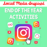 End of The Year Activities/Social Summer Packet