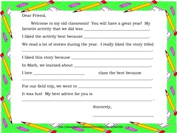 End of The Year Activities for all classrooms