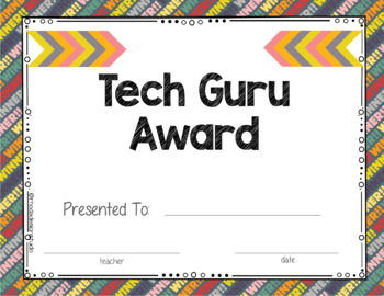 End of The Year Awards Editable Certificates