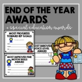 End of The Year Awards- Regular and Special Education