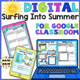 End of The Year Beach Themed Activities Distance Learning