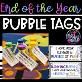 End of The Year Bubble Tag (editable)