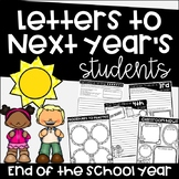 End of The Year Letters to Next Year's Students