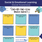 End-of-The-Year Music Survey [Elementary Music]