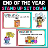 End of The Year Stand Up Sit Down   Virtual Party / Brain Break