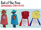 End of The Year Super Superheroes Bundle for Kindergarten!