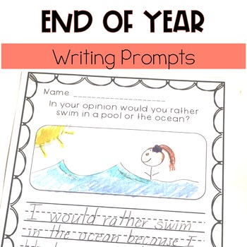 End of The Year Writing Pack